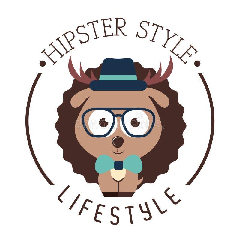 Hippie-Lebensstil lizenzfreie abbildung
