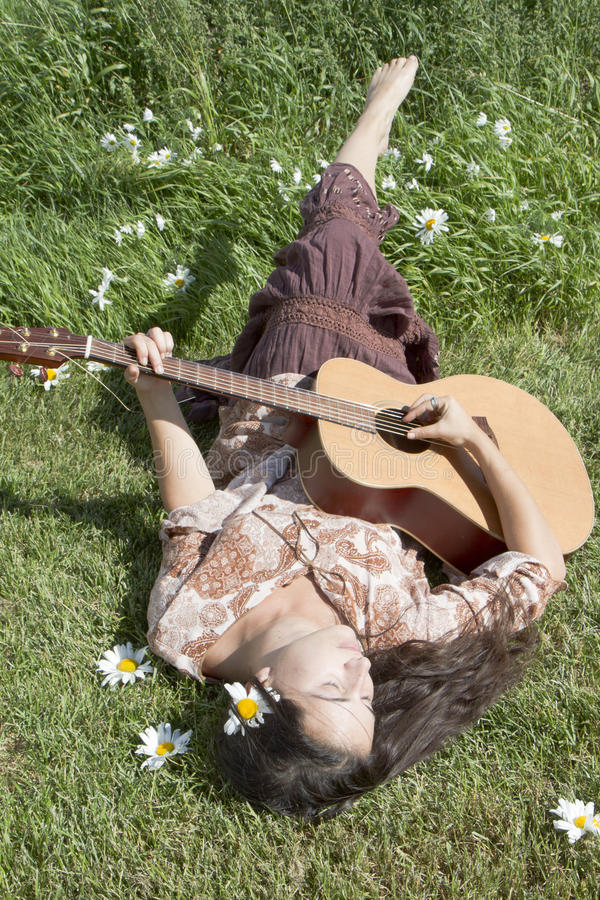 Download Hippie Music Stock Photography - Image: 21958372