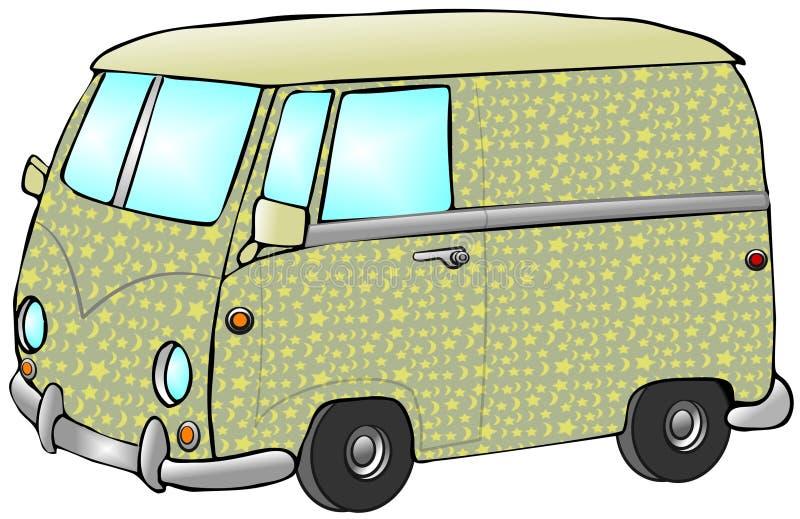Download Hippie Van stock illustration. Illustration of illustration - 6144034