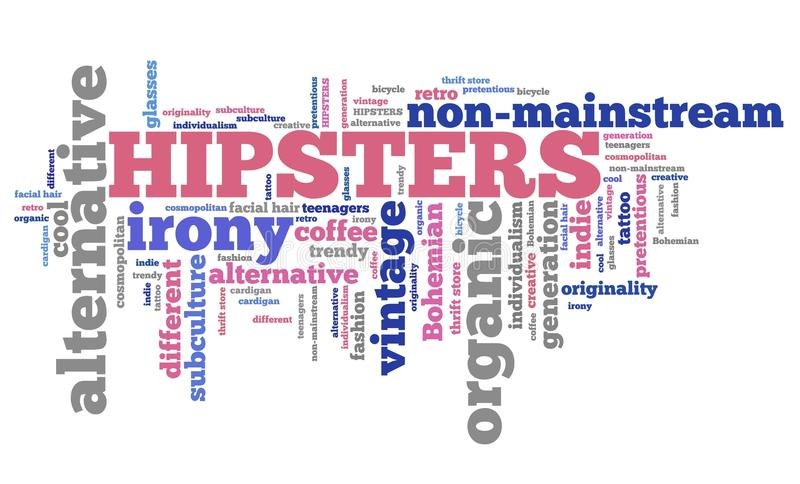 hippies illustration libre de droits