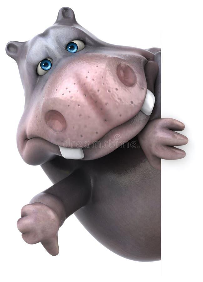 Hippo διασκέδασης ελεύθερη απεικόνιση δικαιώματος