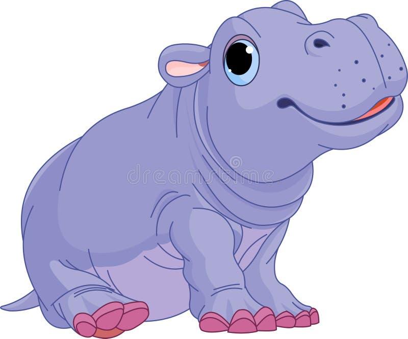 hippo κινούμενων σχεδίων αγο&rho ελεύθερη απεικόνιση δικαιώματος