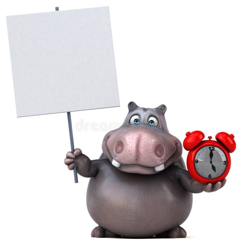 hippo ilustração do vetor