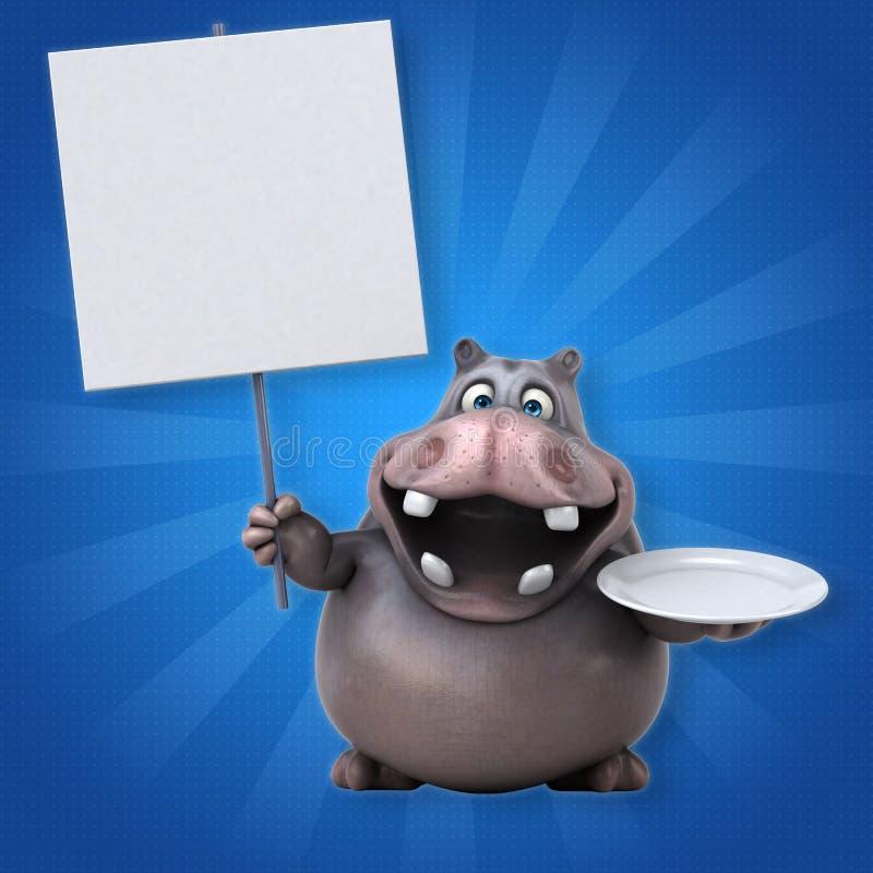 hippo libre illustration