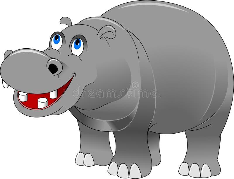 hippo illustrazione vettoriale
