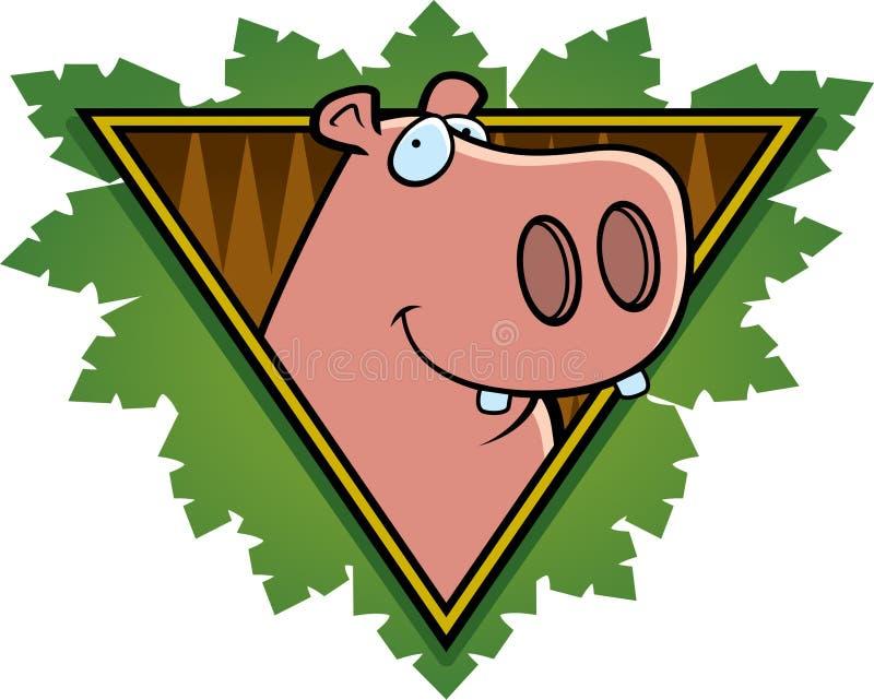 Download Hippo Safari Icon stock vector. Illustration of hippo - 15697818