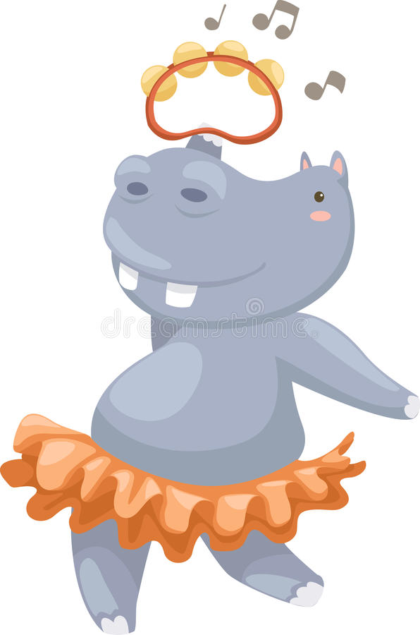 Download Hippo vector stock vector. Image of cutout, animals, clipart - 25207702
