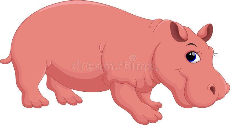 Hippobeeldverhaal vector illustratie