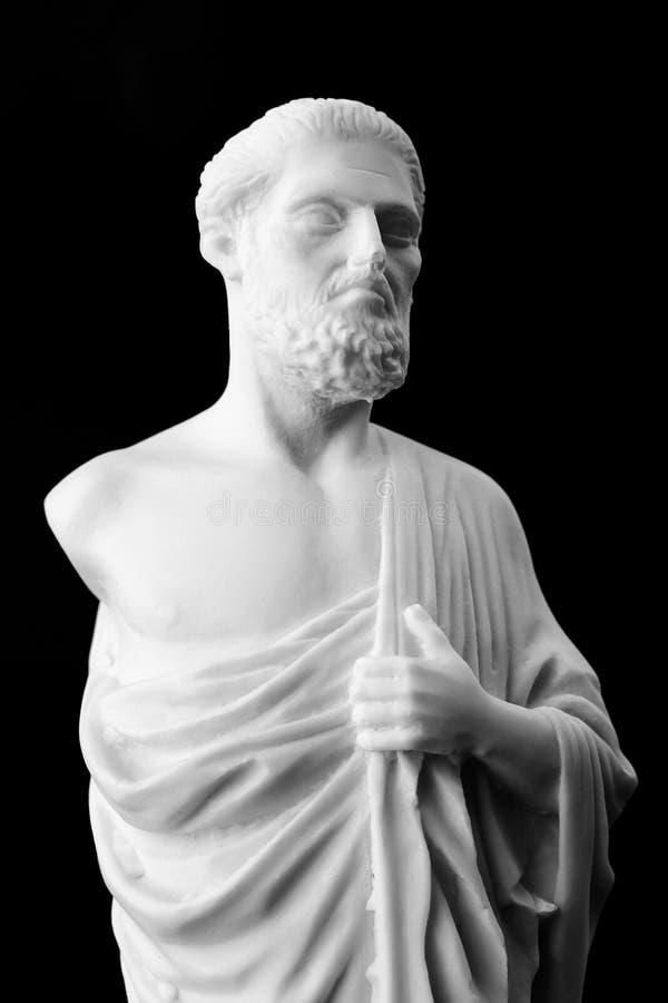 Hippocrate était un médecin du grec ancien et celui de la plupart de p photo stock