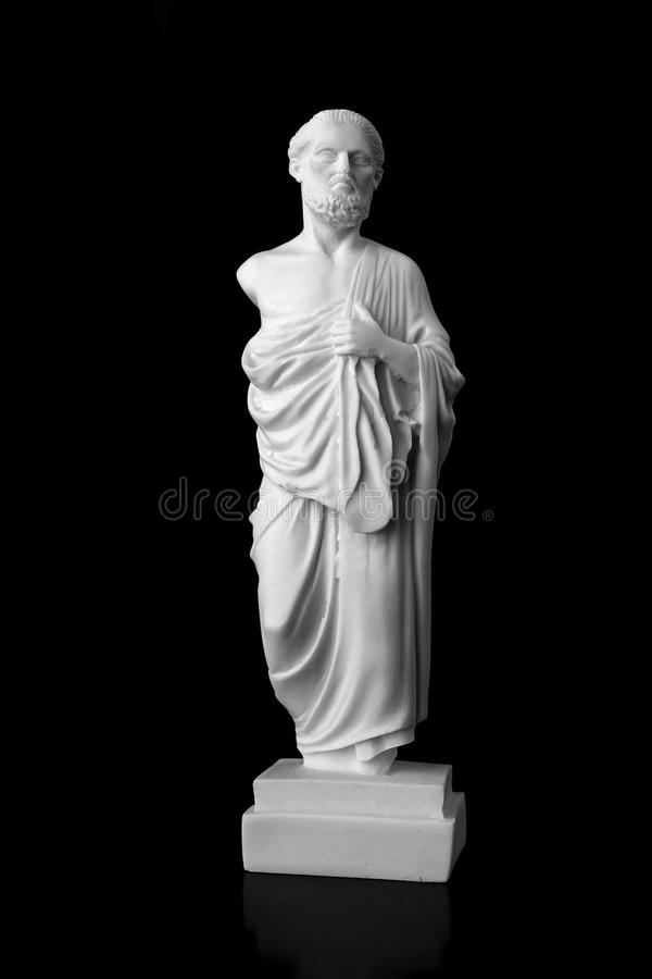 Hippocrates był starożytnego grka lekarzem jeden najwięcej p i fotografia stock