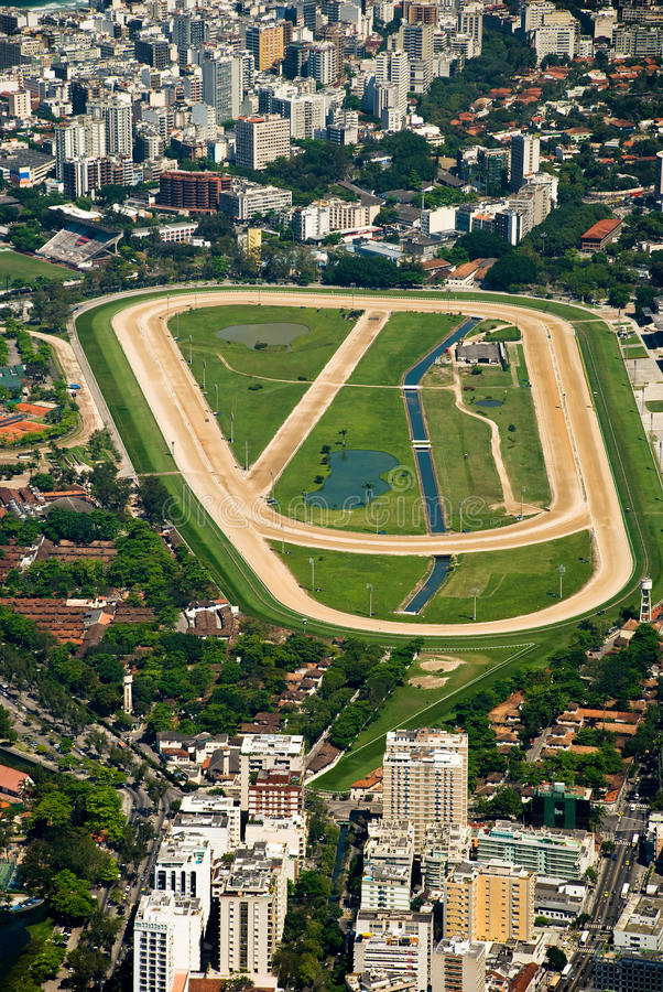 Hippodrome de Rio de Janeiro image stock