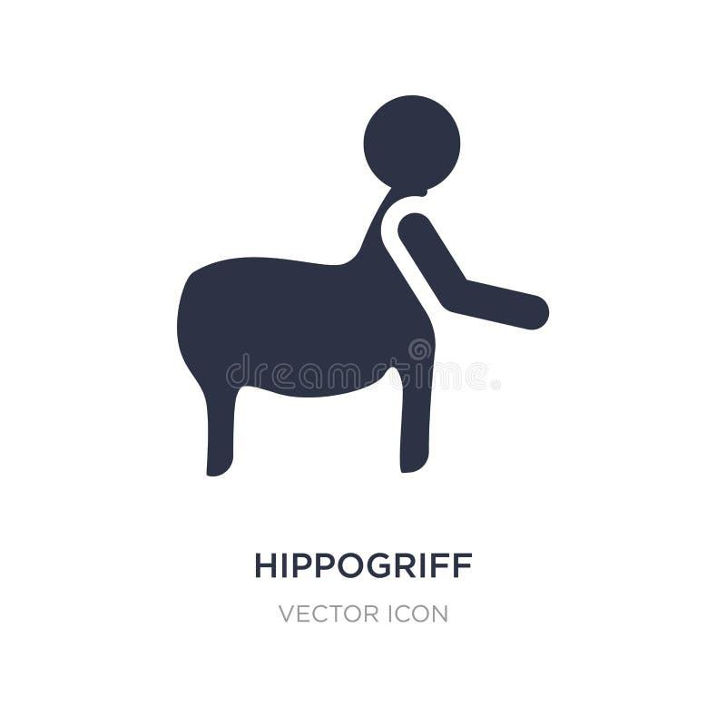hippogriff ikona na białym tle Prosta element ilustracja od ludzi pojęć royalty ilustracja