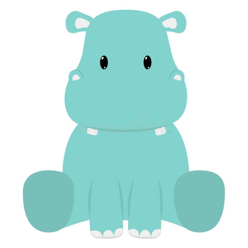 Hippopotame image libre de droits