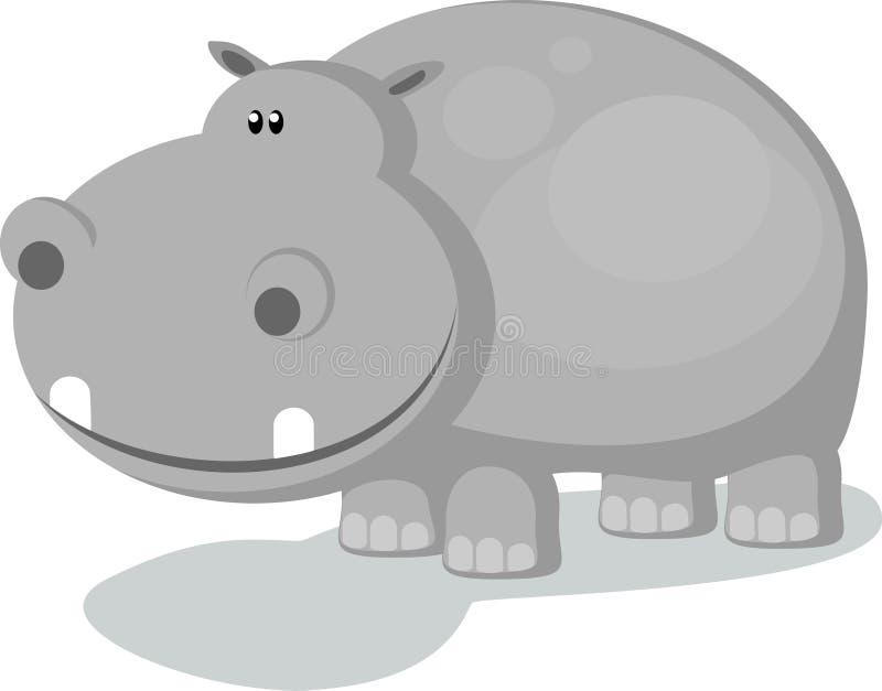 hippopotame illustration libre de droits