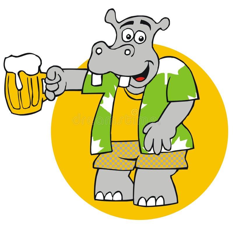 hippopotamus бесплатная иллюстрация