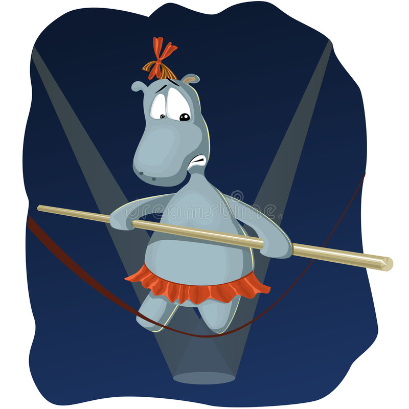 Hippopotamus illustration de vecteur