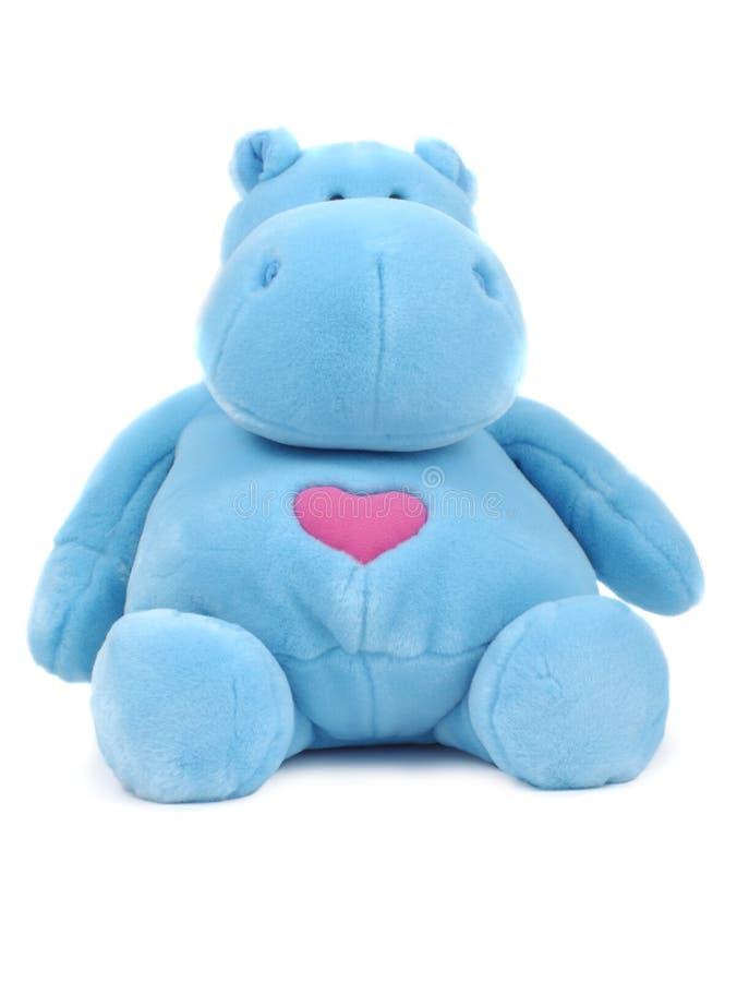 Hippopotamus azul fotos de stock