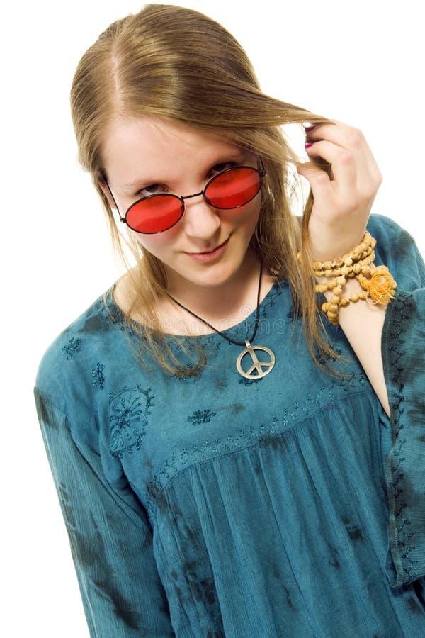 hippy dziewczyna zdjęcia royalty free