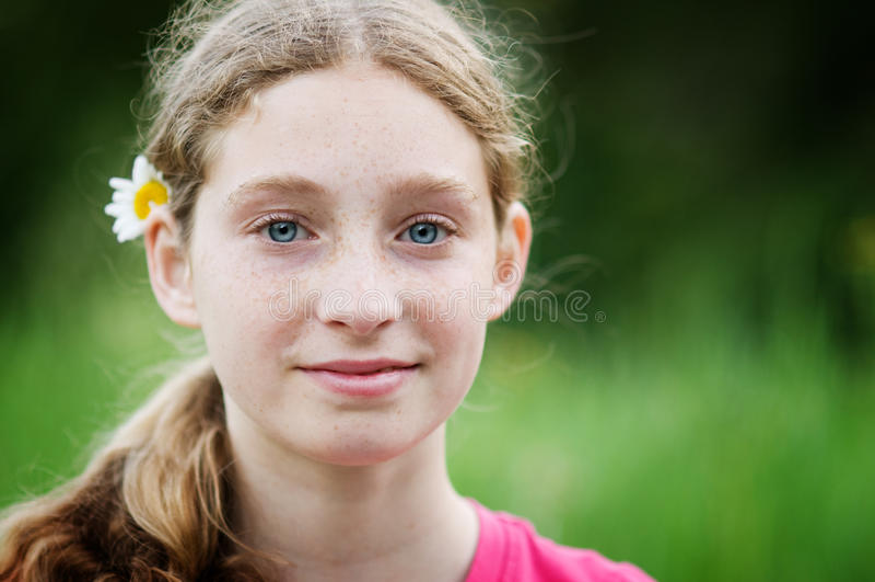 Hippy Teenager Immagine Stock