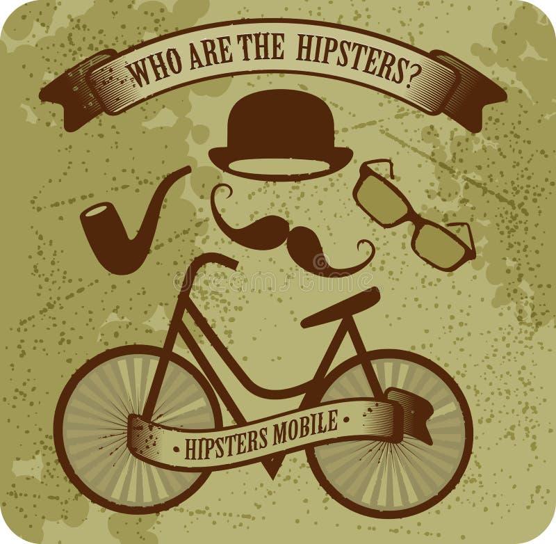Hipster Bike Royalty Free Stock Image