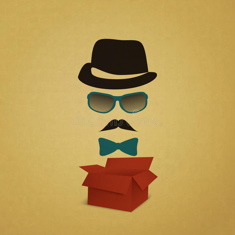 Download Hipster Box Royalty Free Stock Photos - Image: 34722978