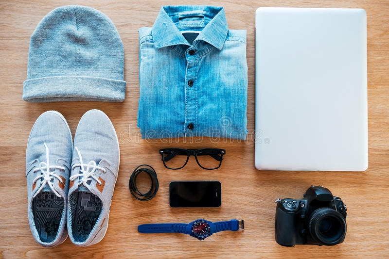 Hipster collection. stock image