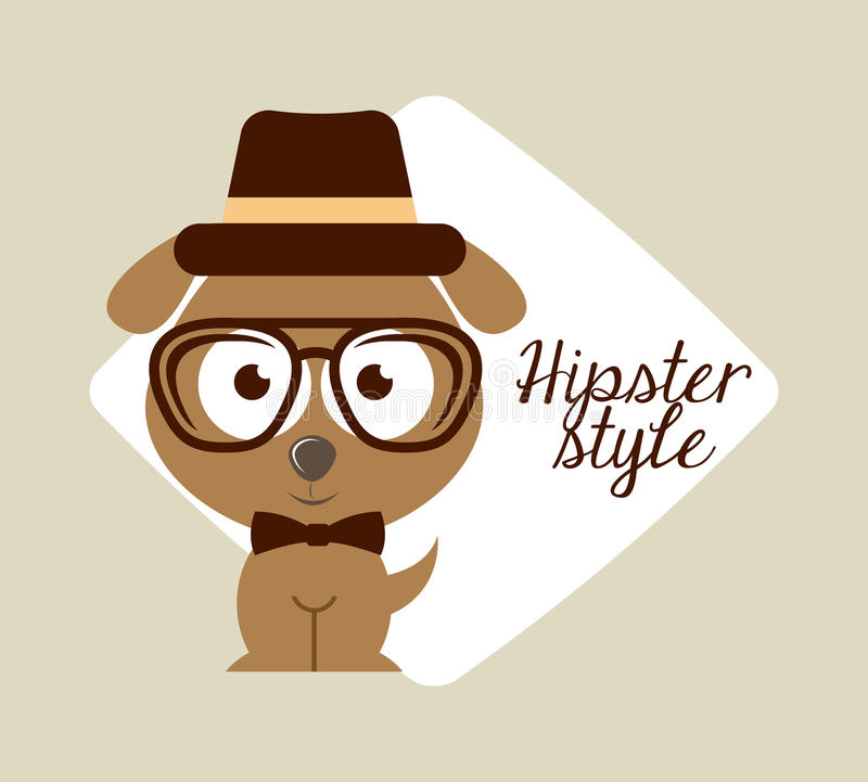 Hipsterlivsstil vektor illustrationer