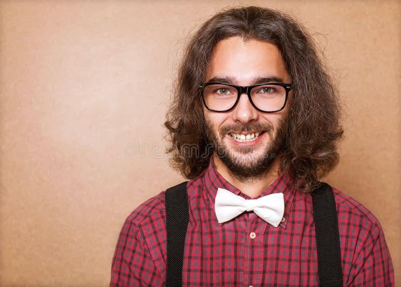 Hipsterman royaltyfri fotografi