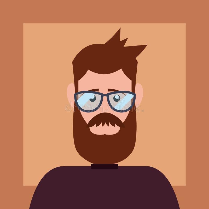 Hipsterstildesign royaltyfri illustrationer