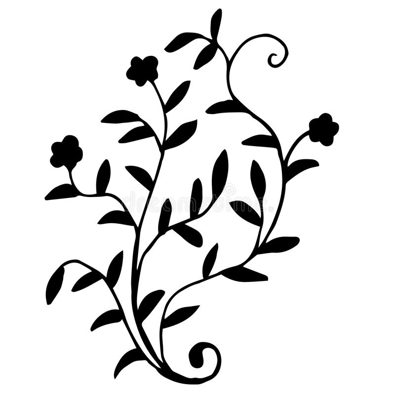 Hiqh behöver den kvalitets- original- buketten av blommaatt färga eller annat stock illustrationer