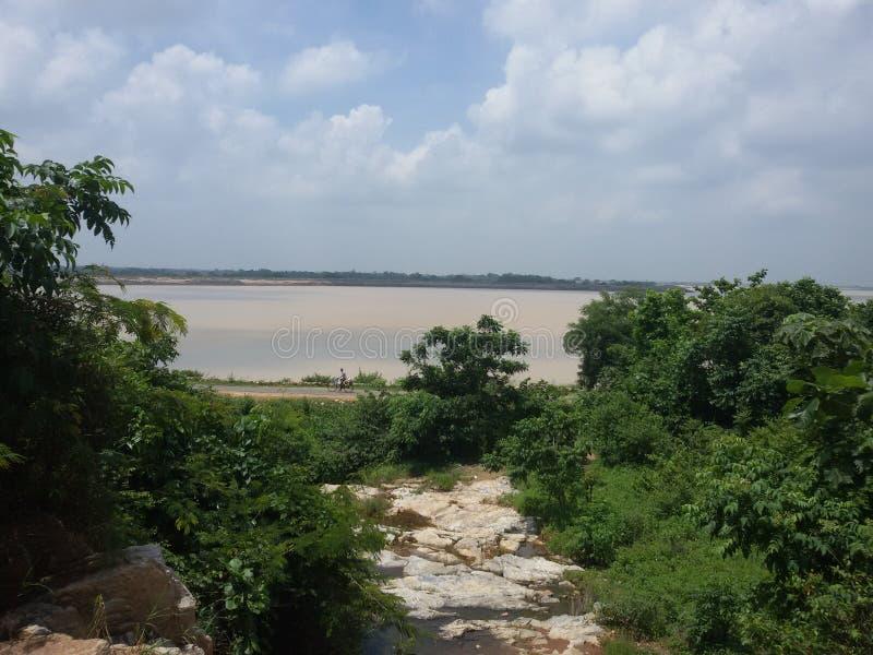 Hirakud de Mahanadi images stock