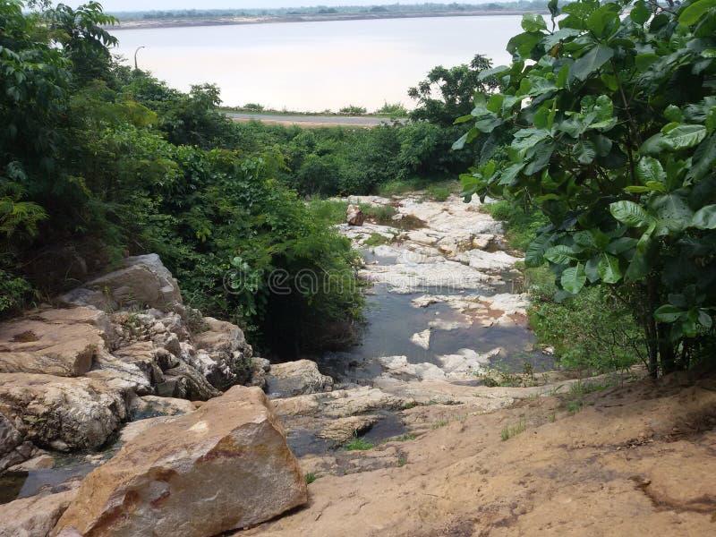 Hirakud Mahanadi стоковое изображение