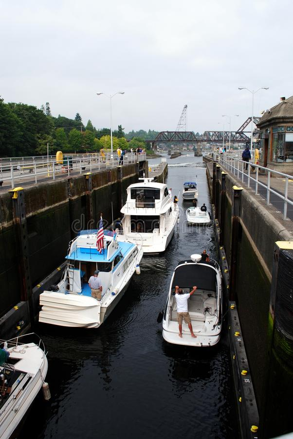 Download The Hiram M. Chittenden Locks Editorial Stock Image - Image: 20631604