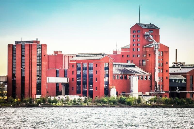 Hiram synów i piechura destylarni budynek w Windsor, Ontario, Kanada obraz royalty free