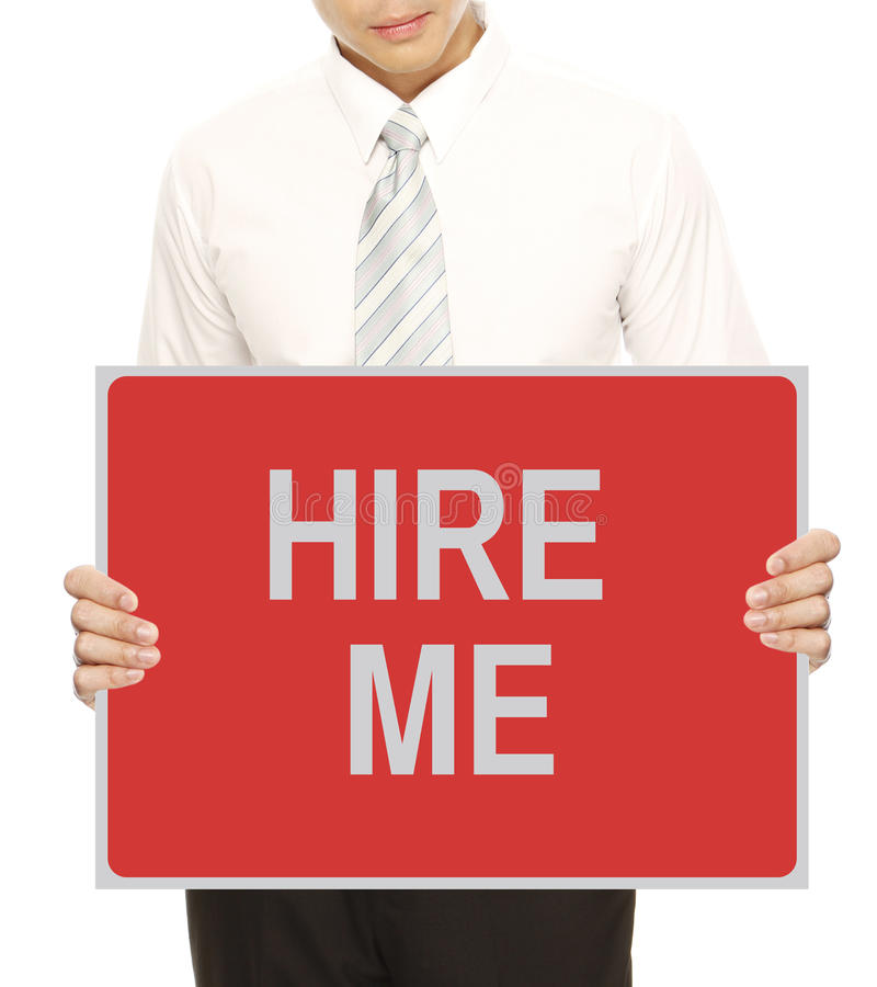Download Hire Me stock image. Image of occupation, unemployed - 29502299