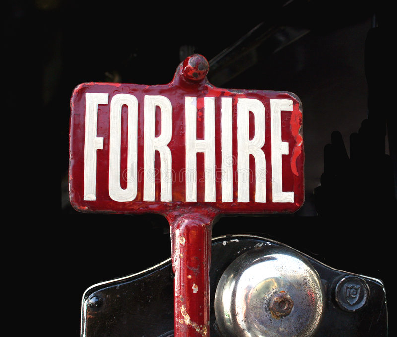 Download For Hire Sign Stock Photography - Image: 803372