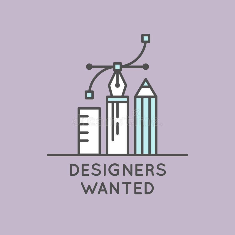 Download We Are Hiring And Looking For Interns Stock Illustration - Image: 83711565