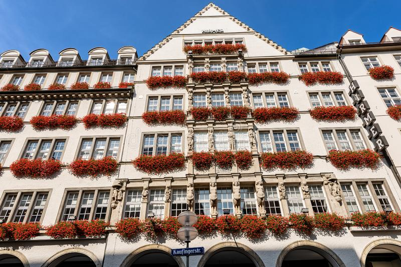 Hirmer - Commercial Building In Kaufingerstrasse Munich Editorial Image -  Image of exterior, department: 127379515