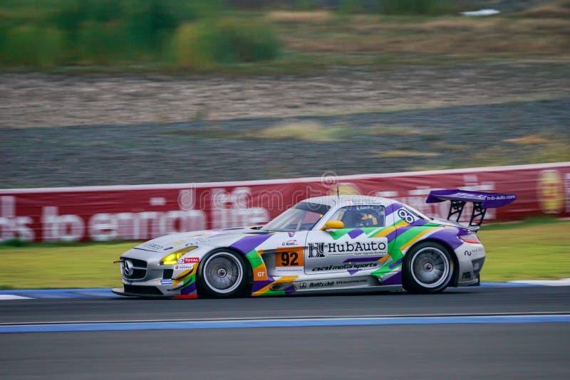 Hiroki Yoshimoto van Team AAI - HubAuto in de Aziatische Reeks van Le Mans - stock foto