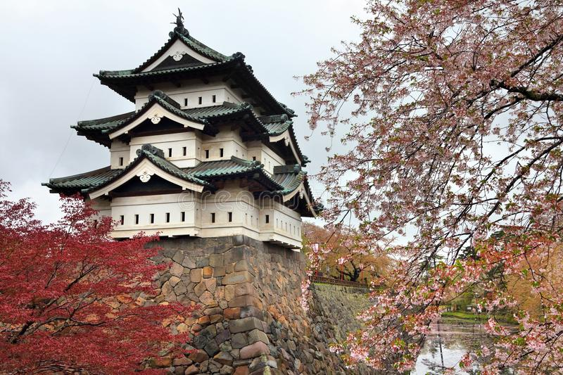 Hirosaki Castle, Ιαπωνία στοκ φωτογραφίες με δικαίωμα ελεύθερης χρήσης