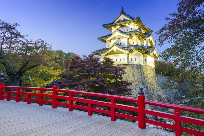 Hirosaki Castle στην Ιαπωνία στοκ εικόνα