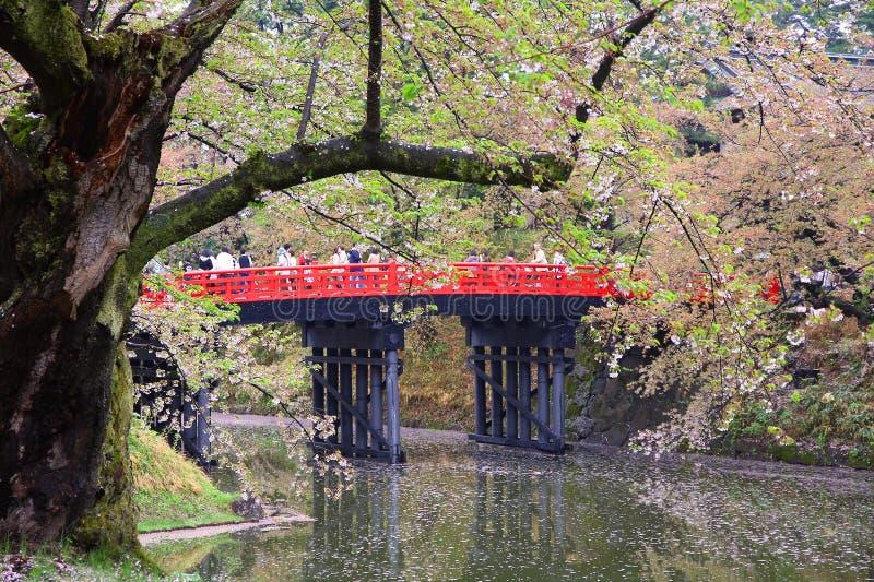 Hirosaki Japan arkivbilder