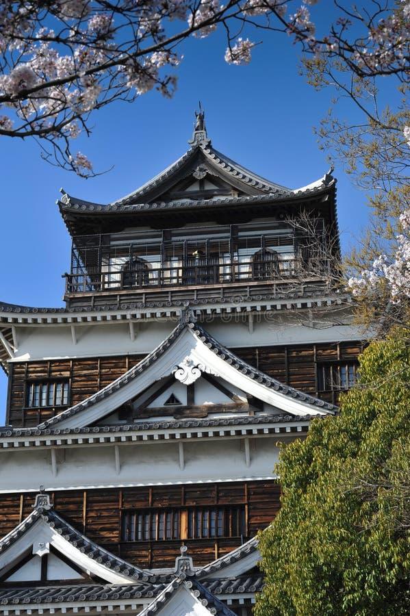 Hiroschima-Schloss stockfoto