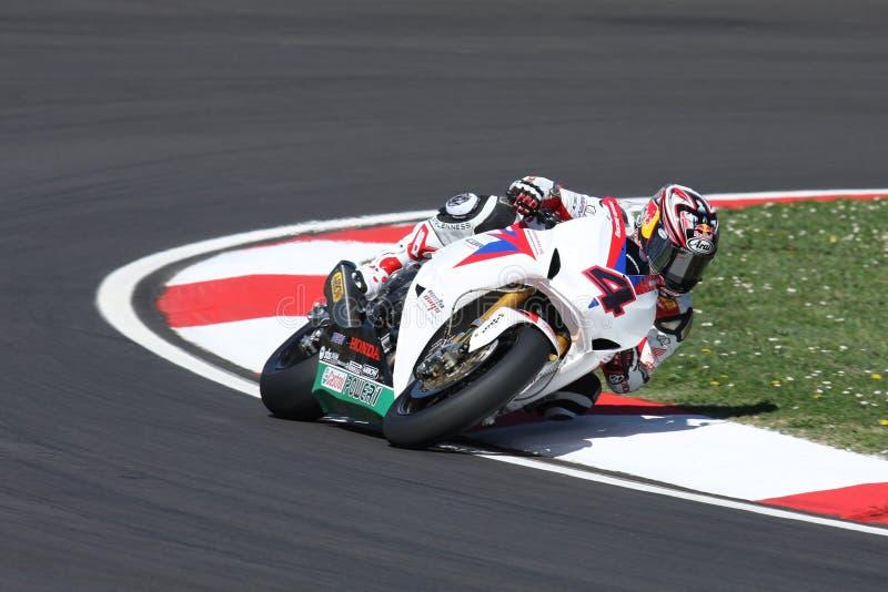 Hiroshi Aoyama - Honda CBR1000RR foto de archivo