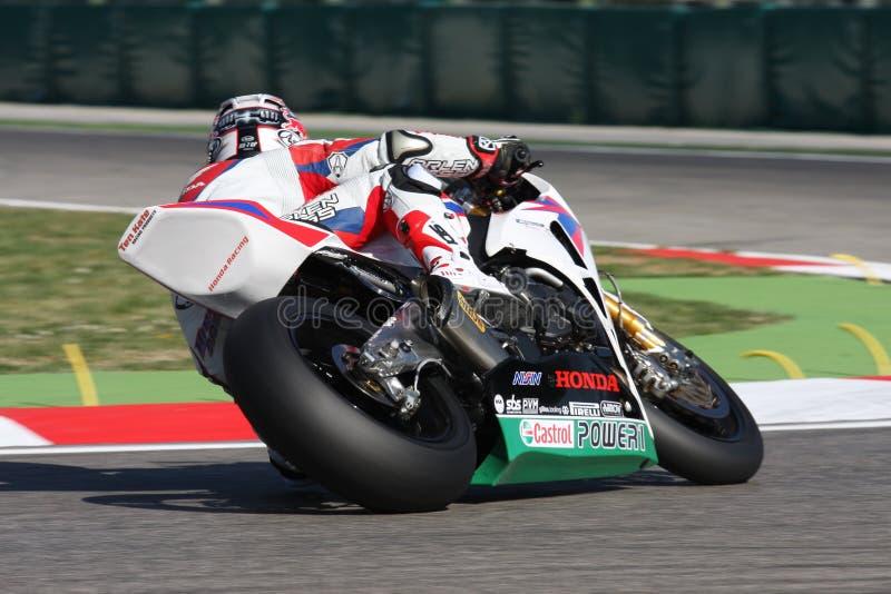 Hiroshi Aoyama - Honda CBR1000RR fotos de archivo