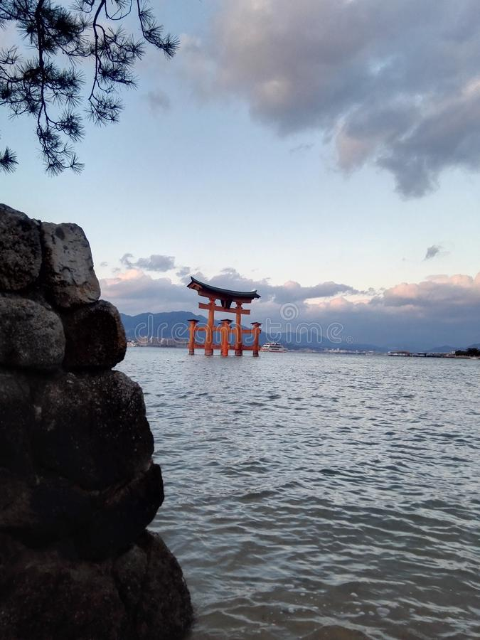 hiroshima royalty-vrije stock foto's