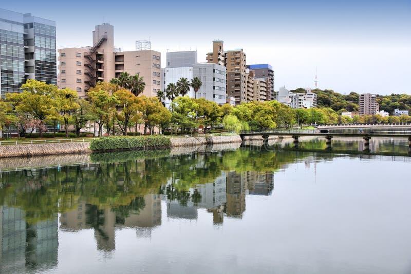 Download Hiroshima stock photo. Image of water, asian, skyline - 29370082