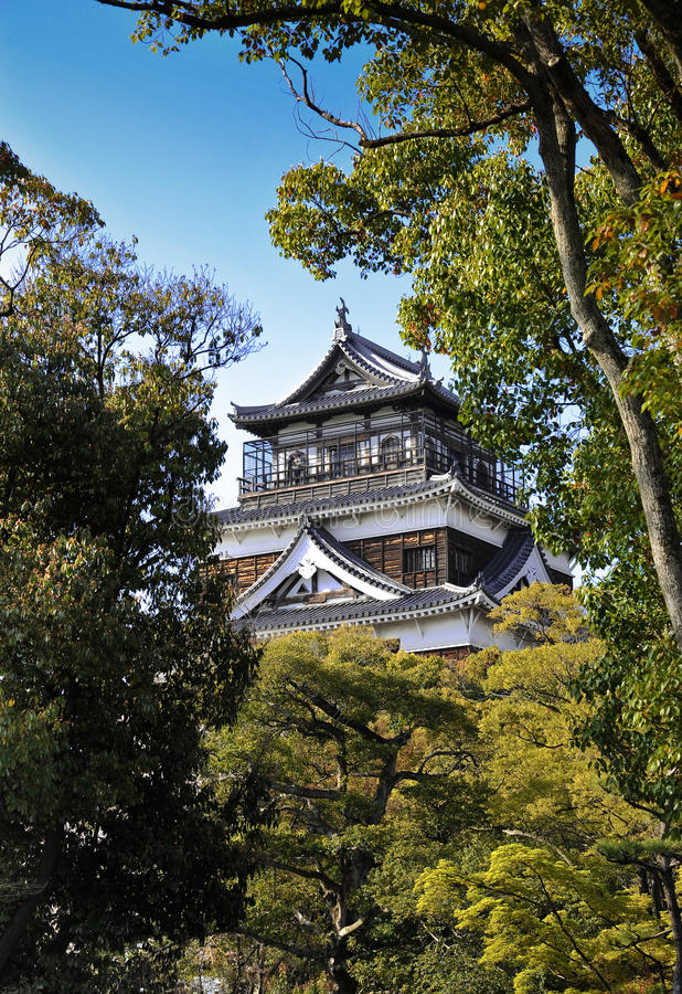 Download Hiroshima Castle stock image. Image of warrior, typical - 19201729