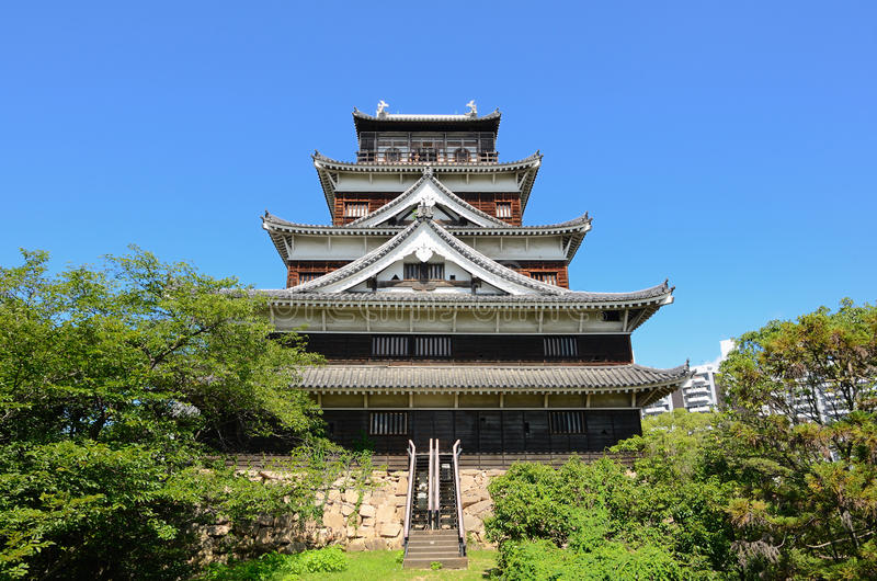 Download Hiroshima Castle stock image. Image of castle, japanese - 20458671