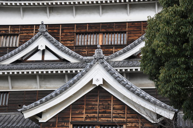 Download Hiroshima Castle stock photo. Image of brown, white, historical - 31328898